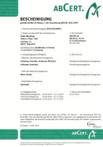 ABCERT-Bescheinigung-Perter-Paul-Hof 14-15
